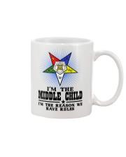 Freemason The Child Rules Mug front