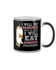 You are in love with hamburger Color Changing Mug thumbnail