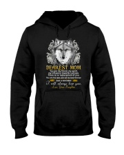 Wolf Daughter To Mom My Friend My Spirit  Hooded Sweatshirt thumbnail