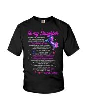 Unicorn Reason My Smile Brighter Daughter Dad Youth T-Shirt thumbnail