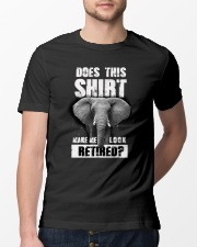 Look Retired Elephant Classic T-Shirt lifestyle-mens-crewneck-front-13