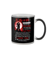 Family Wife The Clock The Moon Color Changing Mug thumbnail