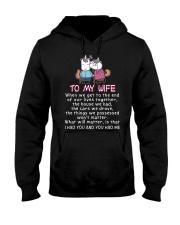 Unicorn I Had You You Had Me Wife Hooded Sweatshirt thumbnail