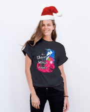 Be A Unicorn In A World Full Of Horse Classic T-Shirt lifestyle-holiday-crewneck-front-1