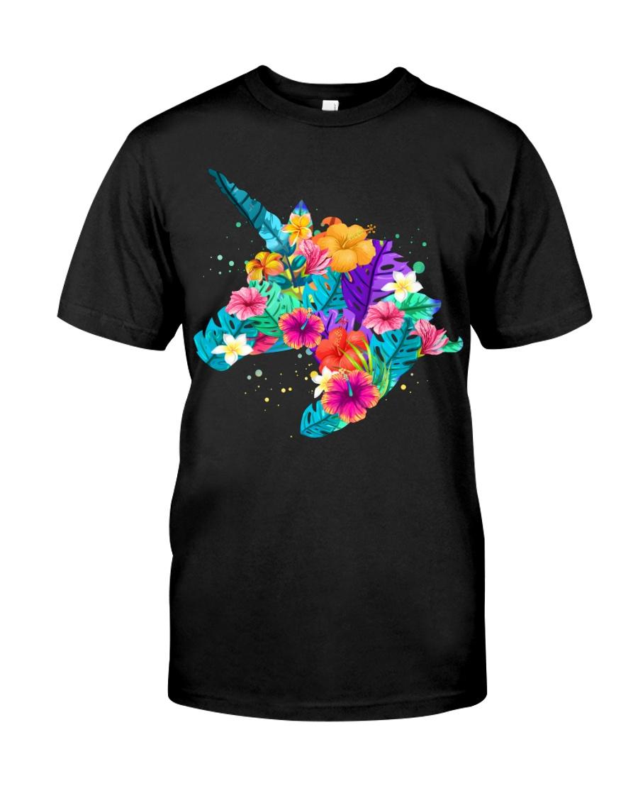 Unicorn Flowers Aloha Hawaii Classic T-Shirt