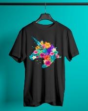 Unicorn Flowers Aloha Hawaii Classic T-Shirt lifestyle-mens-crewneck-front-3