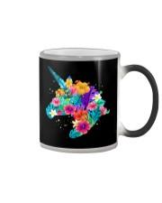Unicorn Flowers Aloha Hawaii Color Changing Mug thumbnail