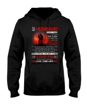 Firefighter Husband Clock Ability Moon Hooded Sweatshirt thumbnail