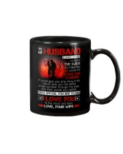 Firefighter Husband Clock Ability Moon Mug front