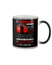 Firefighter Husband Clock Ability Moon Color Changing Mug thumbnail