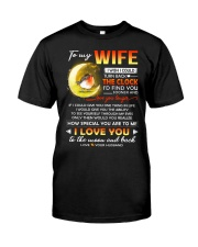 Bird Wife Clock Ability Moon Classic T-Shirt thumbnail