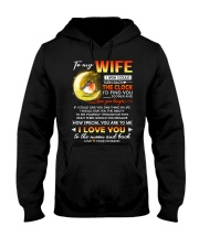 Bird Wife Clock Ability Moon Hooded Sweatshirt thumbnail