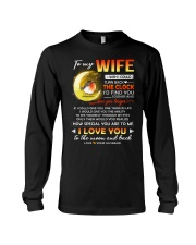 Bird Wife Clock Ability Moon Long Sleeve Tee thumbnail