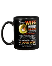 Bird Wife Clock Ability Moon Mug back