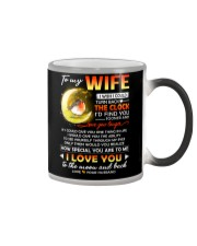 Bird Wife Clock Ability Moon Color Changing Mug tile