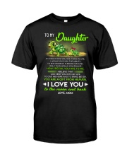 Turtle Daughter Mom Clock Ability Moon Classic T-Shirt thumbnail