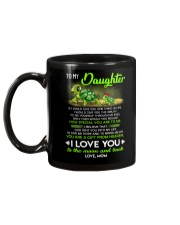 Turtle Daughter Mom Clock Ability Moon Mug back