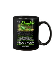 Turtle Daughter Mom Clock Ability Moon Mug front