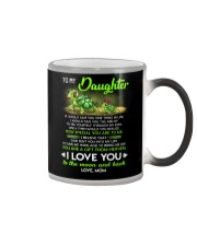 Turtle Daughter Mom Clock Ability Moon Color Changing Mug thumbnail