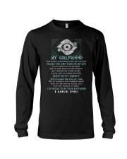 Words Begin Tell How I Feel Viking Long Sleeve Tee thumbnail