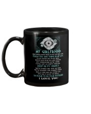 Words Begin Tell How I Feel Viking Mug back