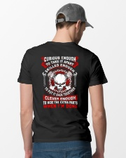 Mechanic Curious Enough Shirt Classic T-Shirt lifestyle-mens-crewneck-back-6