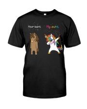 Unicorn Your Aunt My Aunt Dabbing Classic T-Shirt thumbnail