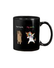 Unicorn Your Aunt My Aunt Dabbing Mug thumbnail