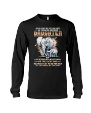 Elephant My Freaking Awesome Daughter Bought Me  Long Sleeve Tee thumbnail