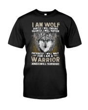 I Am Wolf Classic T-Shirt front