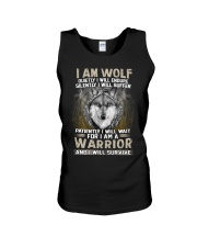I Am Wolf Unisex Tank thumbnail