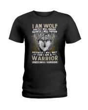 I Am Wolf Ladies T-Shirt thumbnail