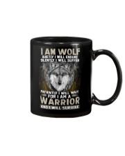 I Am Wolf Mug thumbnail