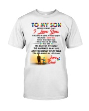 Autism Love At First Sight Son Dad  Classic T-Shirt thumbnail