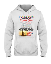 Autism Love At First Sight Son Dad  Hooded Sweatshirt tile