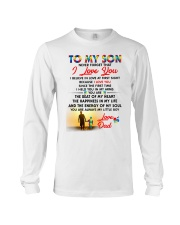 Autism Love At First Sight Son Dad  Long Sleeve Tee thumbnail