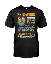 Otter Boyfriend Clock Ability Moon Classic T-Shirt thumbnail