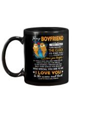 Otter Boyfriend Clock Ability Moon Mug back