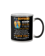 Otter Boyfriend Clock Ability Moon Color Changing Mug thumbnail