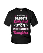 I'm mechanic's daughter shirt Youth T-Shirt front