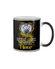 To My Unicorn - Never Doubt That I Love You Color Changing Mug thumbnail