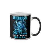Unicorns Are Like The Ocean Color Changing Mug thumbnail