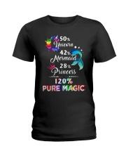 Unicorn 50 Ladies T-Shirt thumbnail