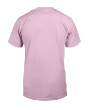 Breast Cancer Shirts Woman Protected By God Classic T-Shirt back
