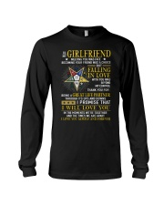 Freemason Girlfriend Ups And Downs Love Long Sleeve Tee thumbnail