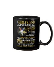 Freemason Girlfriend Ups And Downs Love Mug front