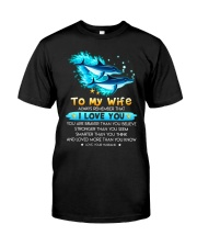 Dolphin Wife I Love You Classic T-Shirt thumbnail