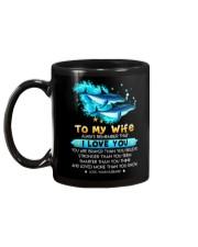 Dolphin Wife I Love You Mug back