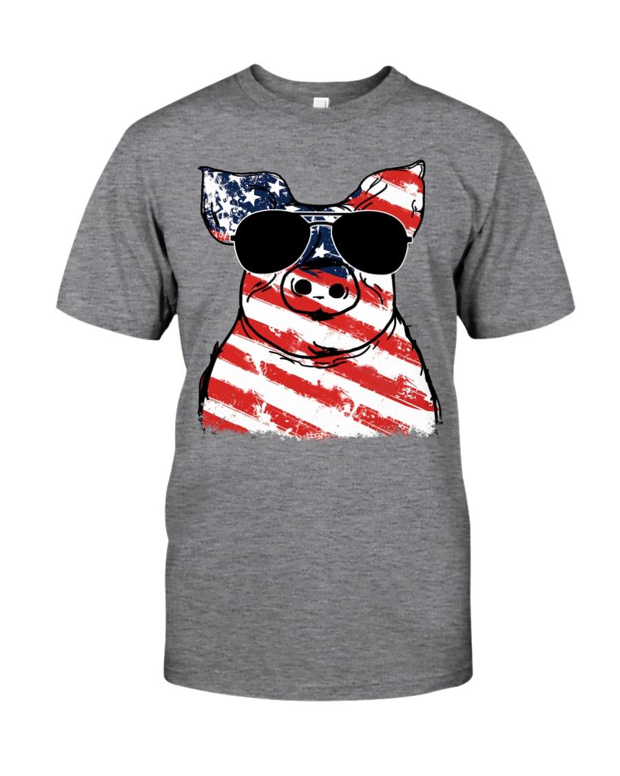 Farmer Pig flag  Classic T-Shirt