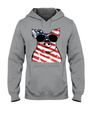 Farmer Pig flag  Hooded Sweatshirt thumbnail